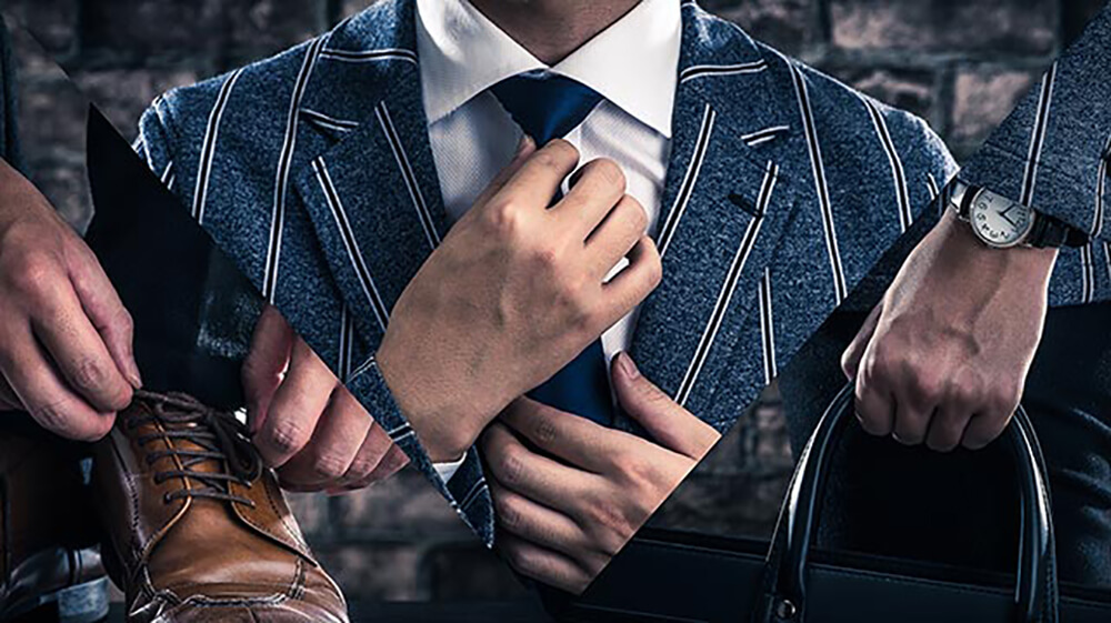 デキる男は私服や小物にも気を使う